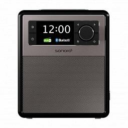 Sonoro Easy - mobiles DAB+ Radio mit Akku, mit Bluetooth - black