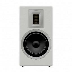 Sonoro Orchestra - Design 2-Wege-Bassreflex Lautsprecher- glossy white