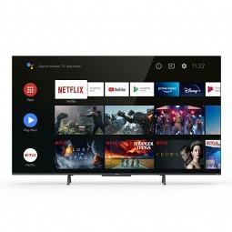 TCL 55C725 QLED TV - 55 Zoll QLED, DV, 10+, HF, Android TV, DA